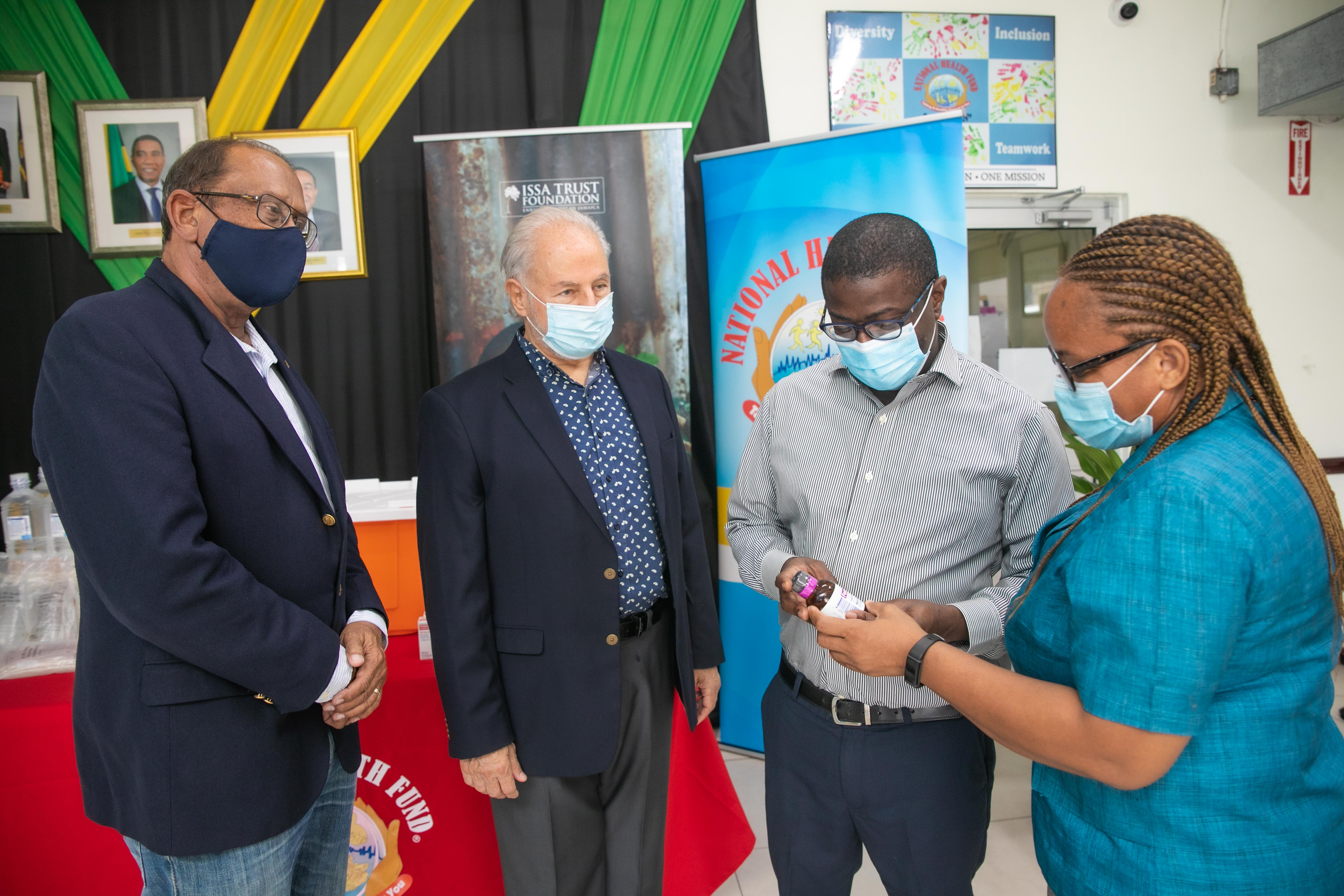 NHF RECEIVES PHARMACEUTICAL DRUGS VALUED AT US$900,000 FROM DIRECT RELIEF
