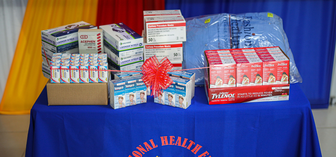 NHF RECEIVES CRITICAL MEDICAL SUPPLIES FROM FOOD FOR THE POOR IN RESPONSE TO COVID-19