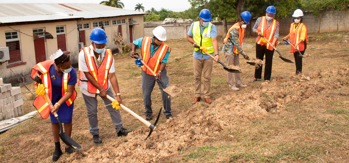 GROUND BROKEN FOR NHF FUNDED PROJECTS IN BUFF BAY AND ANNOTTO BAY VALUED AT $380 MILLION