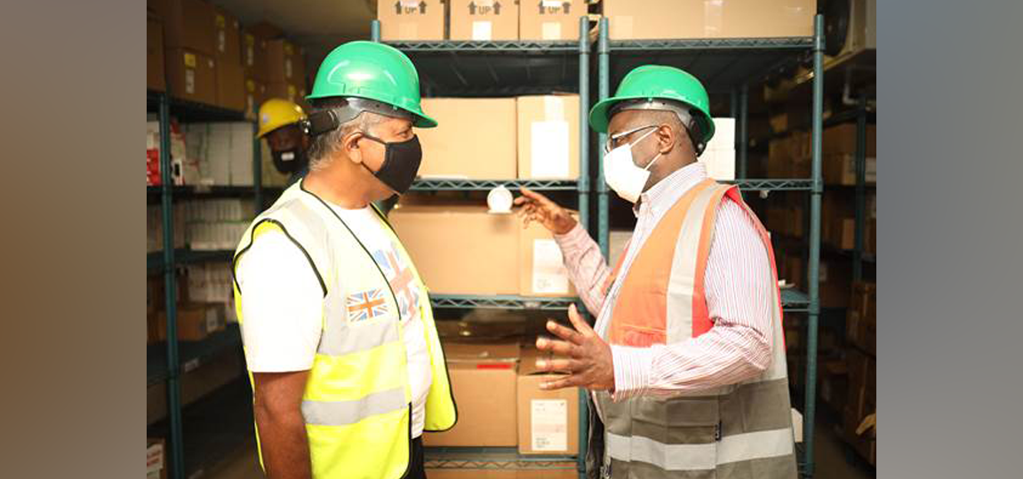 NHF RECEIVES APPROXIMATELY 17.5 MILLION SHIPMENT WORTH OF MEDICATION WITH THE COLLABORATIVE HELP FROM THE MINISTRY OF FOREIGN AFFAIRS AND FOREIGN TRADE AND THE BRITISH HIGH COMMISSION
