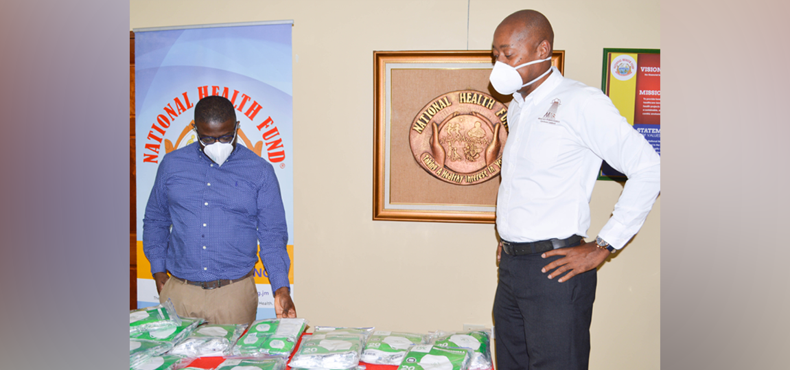 MANPOWER AND MAINTENANCE SERVICES LIMITED DONATES 2,000 MASKS TO NHF ON ITS 30TH ANNIVERSARY