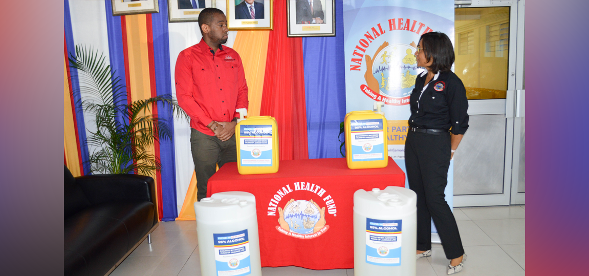 NATIONAL RUMS OF JAMAICA DONATES ALCOHOL TO NHF IN RESPONSE TO COVID-19