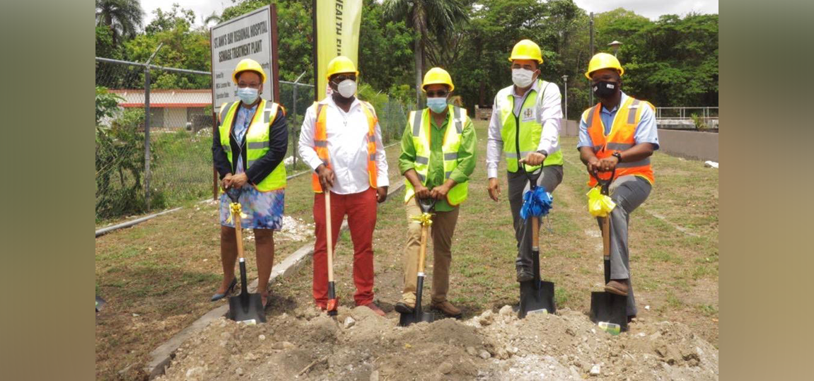 NHF TO UPGRADE THE ST. ANN'S BAY REGIONAL HOSPITAL'S SEWERAGE TREATMENT PLANT AT A COST OF $83.6 MILLION