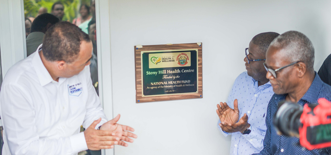 Renovated Stony Hill Health Centre Reopens.