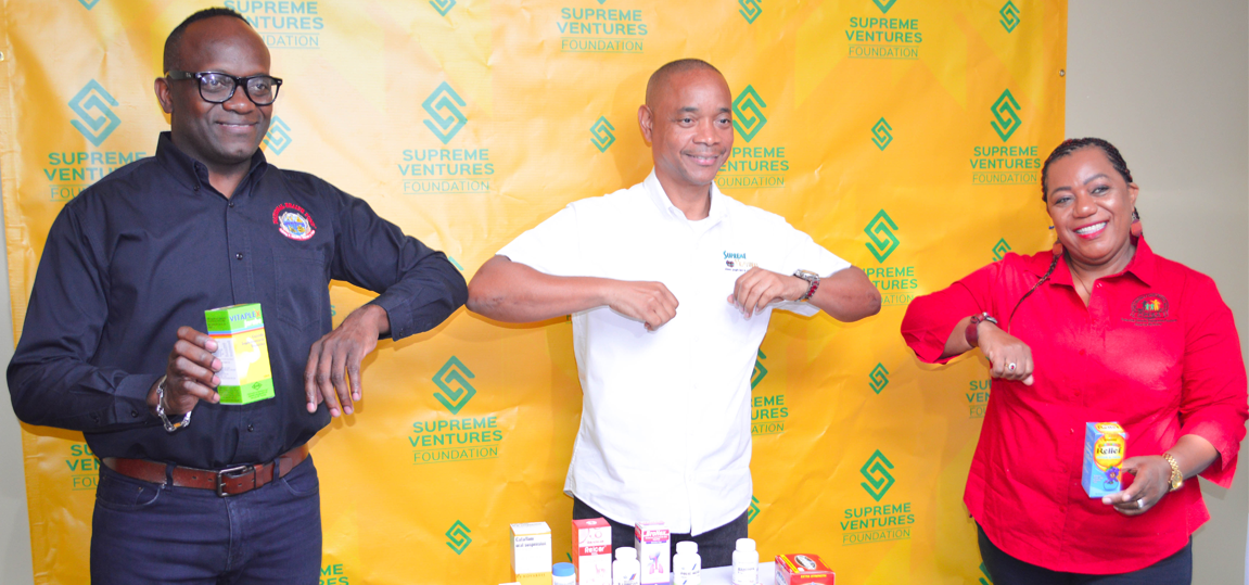 SUPREME VENTURES FOUNDATION DONATED $500,000 TO NHF TOWARDS MEDICATION FOR CHILDREN IN STATE CARE