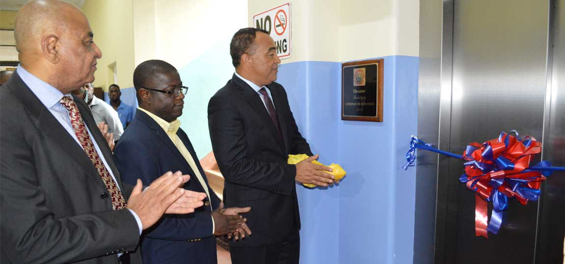 Two elevators at National Chest Hospital upgraded - November 1, 2018