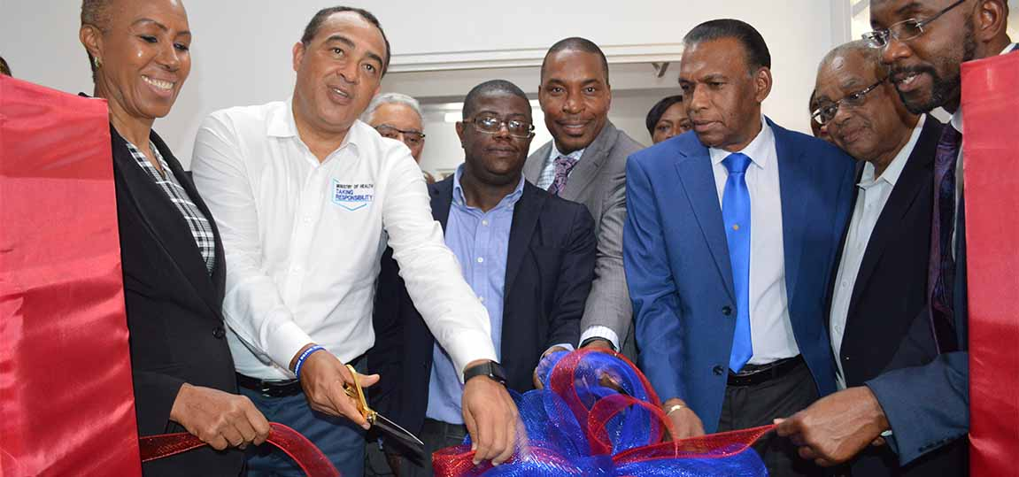 NHF DONATES $40M FOR INTERVENTIONAL SUITE AT UHWI - June 1, 2019
